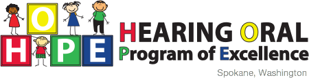 HOPE School | Hearing Oral Program of Excellence